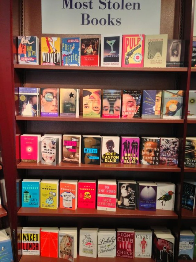 Los libros más robados
