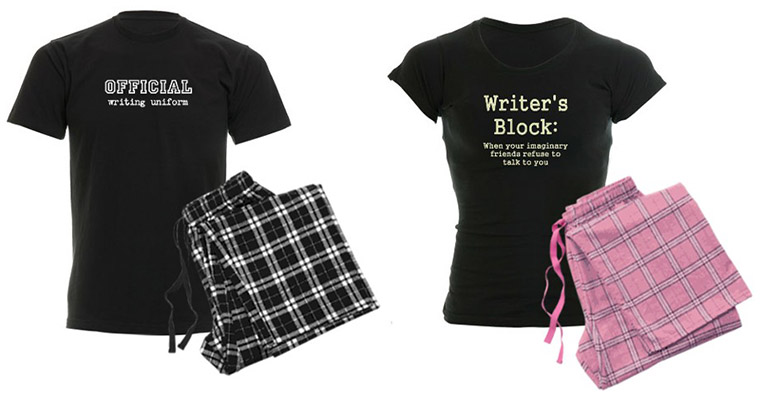pijamas para escritores